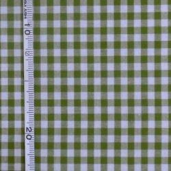画像1: 国産生地クォーターカット(069)濃いグリーン
