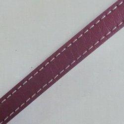 画像1: レザーステッチテープ(パープル)