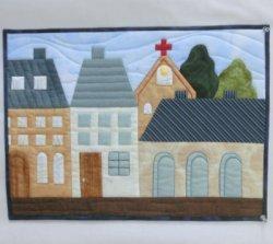 画像1: 青い屋根の街