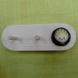 画像1: 糸たて(ミニサイズ糸たて2本・ピンクッション1個)