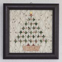 画像1: クリスマス・ツリー(額シリーズ)